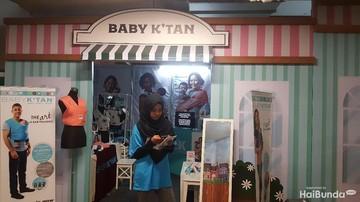 Ada Free Gift untuk Pembelian Gendongan Bayi di Festival Bunda Happy