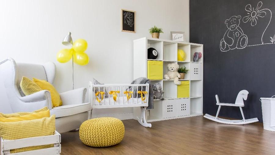 Warna Dinding Kamar Turut Pengaruhi Perkembangan si Kecil, Lho