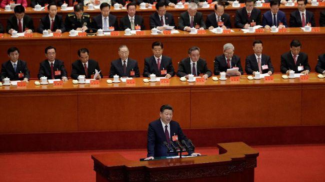 Partai Komunis China bakal mendiskusikan perubahan konstitusi negara untuk pertama kalinya sejak 2004, memperkuat kekuasaan Xi Jinping.