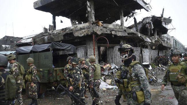 Militer Filipina menembak mati lima anggota kelompok Abu Sayyaf diduga kembali menculik WNI.