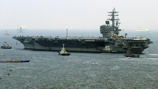 AS Akan Kerahkan Kapal Induk Latihan di Laut China Selatan