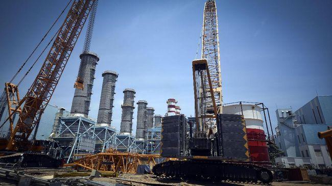 Kementerian ESDM mencatat total kapasitas pembangkit listrik mega proyek 35.000 MW yang beroperasi per 15 Juni 2019 baru 10 persen dari target pemerintah.