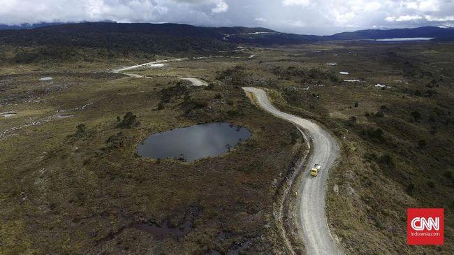 Bukan hanya proyek TN Komodo saja, Pertemuan WHC UNESCO di Fuzhou, 16-31 Juli 2021, juga menyoroti proyek Trans Papua yang melewati Taman Nasional Lorentz.