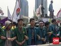 Polisi Masih Periksa 14 Mahasiswa Aksi 3 Tahun Jokowi-JK