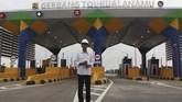 Presiden Jokowi mengatakan pembangunan infrastruktur menjadi prioritas demi menggenjot pertumbuhan ekonomi. Diharapkan, kesejahteraan masyarakat pun terangkat.