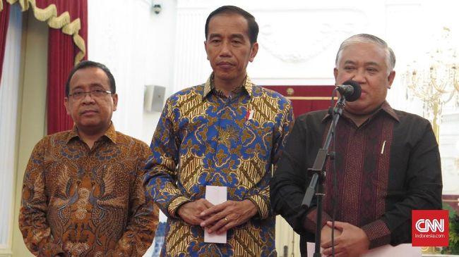 Din Syamsuddin mengutip adagium etika politik Islam untuk merespons sikap pemerintah yang mengabaikan suara rakyat terkait omnibus law maupun penundaan pilkada.