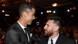 Pemain Ideal Iniesta: Kaki Kiri Messi dan Kebugaran Ronaldo