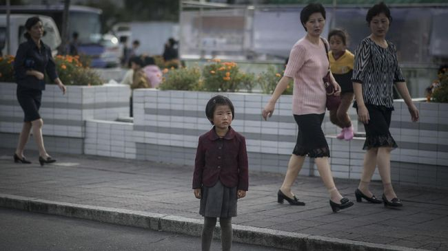 Satu di antara lima anak-anak berusia di bawah lima tahun di Korut dilaporkan mengalami stunting akibat kekurangan gizi.
