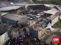 Percikan Las Diduga Penyebab Kebakaran Pabrik Kembang Api