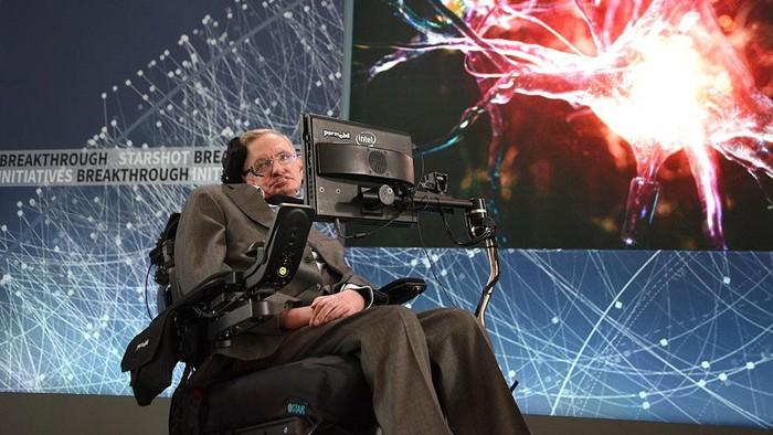 Rahasia Otak Cerdas Stephen Hawking, Ilmuwan yang Hobi Meneliti Alam Semesta