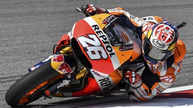 Tabrakan di MotoGP Spanyol, Pedrosa Tak Ingin Lorenzo Dihukum