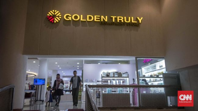 Pusat perbelanjaan Golden Truly resmi menutup operasional pada 1 Desember 2020 lalu