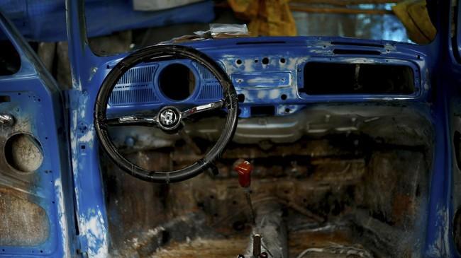 VW Bettle masih memiliki penggemar sekaligus tetap jadi kendaraan andalan di Ethiopia.