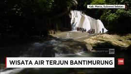 VIDEO: Melintasi Jeram Air Terjun Bantimurung