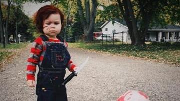 Gemas! Penampilan si Kecil dalam Balutan Kostum Halloween