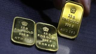 Harga Emas Anjlok di Tengah Pembukaan Kembali Ekonomi Global