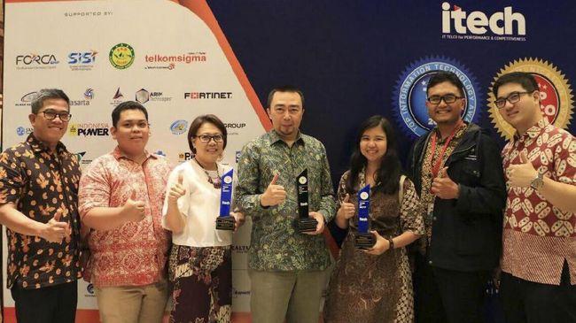 PT Federal International Finance atau FIFGROUP menyabet tiga penghargaan sekaligus dalam bidang teknologi informasi dari acara Top IT & Telco 2017.