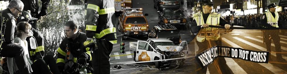Teror Truk Terjang New York