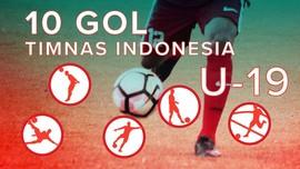 Serba-serbi 10 Gol Timnas Indonesia U-19 di Korea Selatan