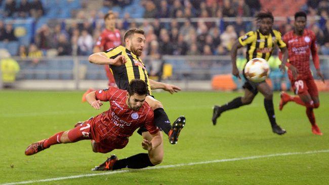 Calon Timnas Indonesia Sandy Walsh Cetak Gol di Liga Belgia