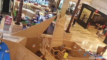 Ide Weekend: Mencari Harta Karun di Kapal Kardus