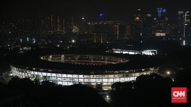 Direksi PPK GBK, Gatot Tetuko, Stadion Utama Gelora Bung Karno steril dari parkir liar saat Timnas Indonesia melawan Islandia, Minggu (14/1).
