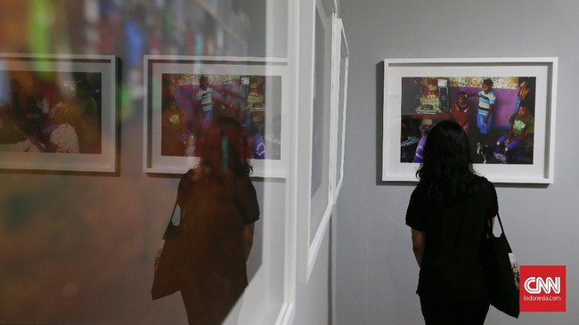 Seni rupa tak hanya lukisan atau patung. Di Jakarta Biennale 2017, panca indera dimanjakan oleh beragam kesenian bertema 'jiwa'.