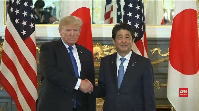 Presiden Amerika Serikat (AS) Donald Trump ingin hubungan dagang antara negaranya dengan Jepang bisa berjalan imbang. Ia mengakui Jepang memiliki keunggulan.
