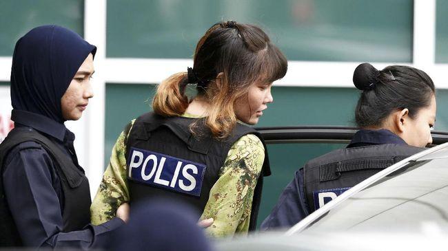Pengadilan Malaysia membebaskan Doan Thi Huong, warga Vietnam tersangka kasus pembunuhan Kim Jong-nam pada Jumat (3/5).