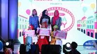 <p>Selamat buat para gadis cilik yang memenangkan hijab hunt kids! </p>
