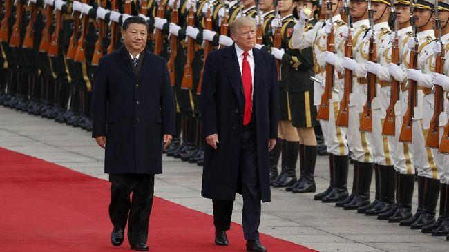 Presiden Amerika Serikat Donald Trump dan Presiden China Xi Jinping yakin pertemuan mereka akhir November sukses redakan perang dagang.