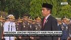 Presiden Jokowi Pimpin Upacara Peringatan Hari Pahlawan