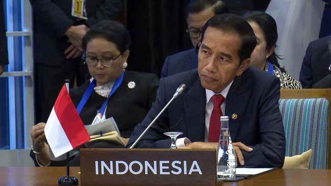 Presiden Jokowi mengaku diperingati oleh PBB dan IMF soal tambang, khususnya batu bara.