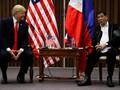 Bertemu di Sela KTT ASEAN, Trump dan Duterte Tak Bahas HAM