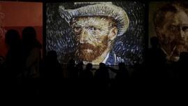 FOTO: 'Tenggelam' dalam Dunia Imajinasi Van Gogh