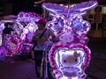 Becak Hias Jadi Magnet Turis di Malaysia
