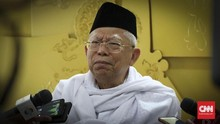 Ma'ruf Amin Jabat Ketua Dewan Pertimbangan MUI