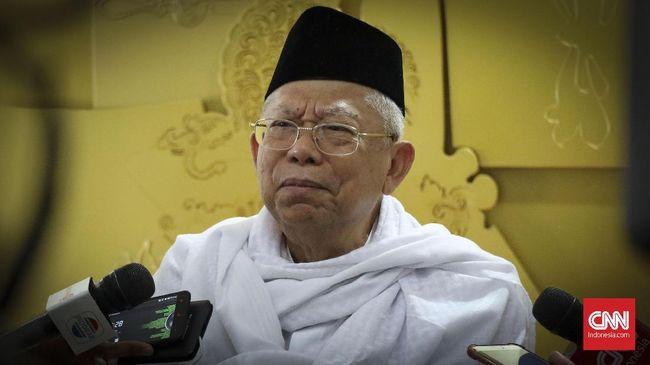 Ketua MUI Ma'ruf Amin meminta seluruh muslim di Indonesia tidak terpengaruh dan ikut-ikutan menyebarkan hoaks dengan memanfaatkan kemajuan teknologi digital.