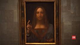 VIDEO: Gambar Yesus Leonardo Da Vinci Laku Rp6 T