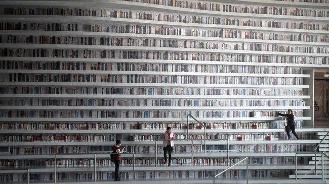 Selain menyediakan ratusan ribu judul buku, Gladstone Library juga menyediakan tempat penginapan bagi tamunya yang