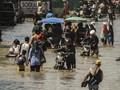Tiga Ruas Jalan Putus akibat Banjir di Kabupaten Bandung
