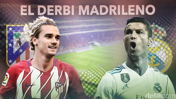 Derby Madrid Tanpa Pemenang