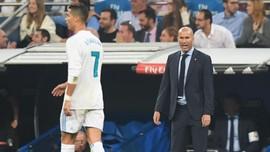 Zidane Buka Pintu Madrid Lebar-lebar untuk Ronaldo