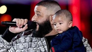 Begini Keakraban DJ Khaled Bersama si Kecil