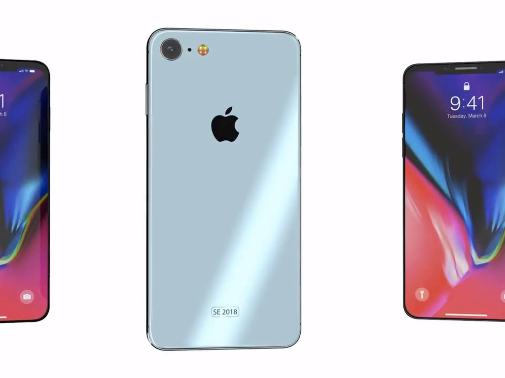 iPhone SE 2 Bagai iPhone X Mini