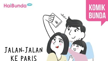 Jaln-jalan ke Paris
