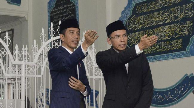 Jokowi: Dukungan TGB Rasionaltas yang Wajar