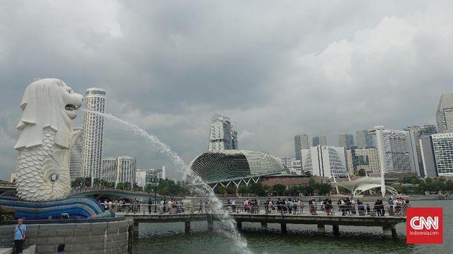Pemerintah Singapura melarang sementara kedatangan turis atau warga asing untuk menekan penyebaran virus corona.