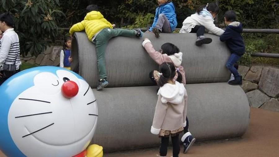 Mengajak si Kecil Ketemu Doraemon Langsung di Jepang