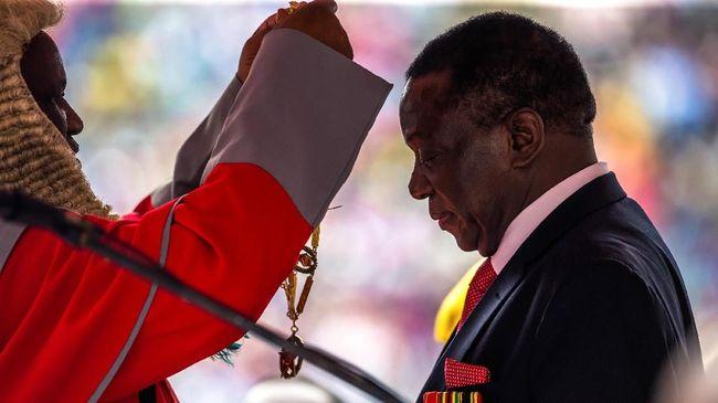Tuduhan Oposisi Ditolak, Mnangagwa Resmi Presiden Zimbabwe